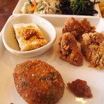 HAO - 唐揚げ、コロッケ、山芋