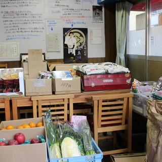 """浜ちゃんの本業は、""""食材卸売業&八百屋さん""""なんです。"""