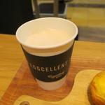 エッグセレント・バイツ - タルト&デリセット:エッグタルト キャロットラペ ミルクコーヒー5