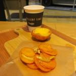 エッグセレント・バイツ - タルト&デリセット:エッグタルト キャロットラペ ミルクコーヒー2