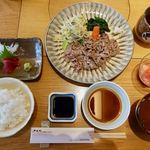 ざくろ - ざくろ御膳(お肉大盛) 2613円