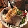 古川屋台 ソウヅ - 料理写真:煮干しカレー油そば