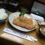 かつ富 - 豚カツ定食