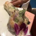 asian bistro PalaPa - 海老と蒸し鶏の生春巻き