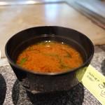 きらら - ワカメの味噌汁