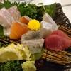 海鮮屋台 おかめ - 料理写真:おまかせ刺身盛り合わせ