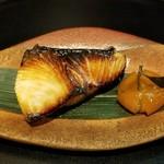 貴与次郎 - ブリ西京焼き