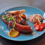 SAUSAGE  FEST - Chorizo plate