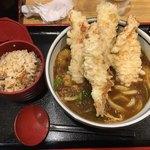 79869090 - 鶏天カレー定食