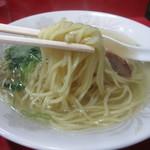 星龍軒 - 出口製麺のストレート麺