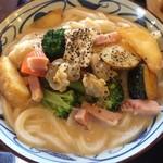 丸亀製麺 - クラムチャウダーうどん 大