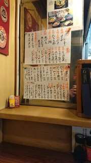 酒楽座 山三 - アテ  メニュー