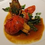 トロイメライ - 料理写真:活けオマール海老のポアレ その新鮮なみそのグラチネ トロイメライ風