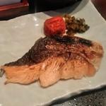 カフェラヴォワ - [料理] 焼き鮭 アップ♪w