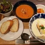 Keitto Ruokala - スープ2種が選べるあったかスープセット税込み1,000円