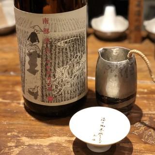 身体に負担をかけさせない為に集めた日本酒の数々