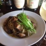 エターナル - スモーク牡蠣のパスタ