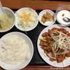 Chuukaryourikaen - 料理写真:鶏肉の特製ソースかけ定食(800円税込)