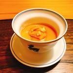 79878515 - ★8.5鱈の白子の茶碗蒸し