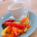 カフェ トレートール - 料理写真:サラダ&スープ