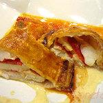 Sans-souci - 魚介と大阪トマトのパイ包み焼き~シャンパンビネガーのソース~