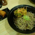 吉利庵 - かき揚げ蕎麦