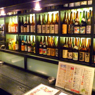 <焼酎・日本酒/・梅酒>種類豊富に取り揃えております!