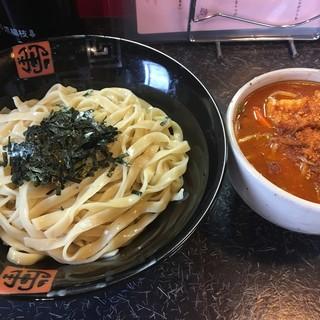 でれ助 - 料理写真:旨辛つけ麺中盛税込930円