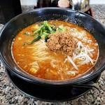 麺屋遊膳 - 担々麺(鶏ガラスープベース)♪