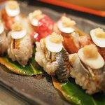 ひがん - いわしの握り寿司 900円