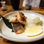 ますぶち - 料理写真:秋鮭ハラス