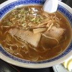 ふくし食堂 - 醤油ラーメンアップ