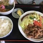 ふくし食堂 - 牛バラセット