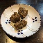 博多ラーメンのんぶー - 鶏レバー カレー粉