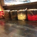 博多ラーメンのんぶー - テーブル