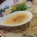 福ヤ - カリカリ。豚脂身を揚げ加工した、北九州の食材です。