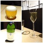 TTOAHISU - ◆ビールとスパークリングワイン。・・泡好きの私用に用意して下さったそう。嬉しいですね。