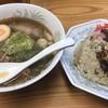 ラーメンya - 料理写真:半チャンラーメン ¥900-