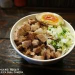 こむぎ - チャーシュー丼