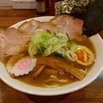 jikaseijukuseimenyoshioka - 【2018.1.25(木)】特製ラーメン(並盛・220g)1,000円