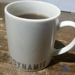 ビオディナミ - ランチセットの飲み物(紅茶)