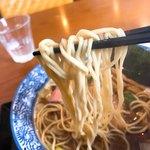 麺SAMURAI 桃太郎 - ツルシコぱっつん麺!