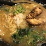 まる鶏 - 鶏白湯ラーメン¥680