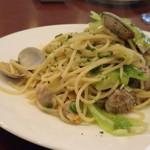 TOKI - ◆浅利と旬の野菜のボンゴレビアンコ 胡麻の風味とともに。 何時もながらにパスタの量が多いこと。他店の1.5倍程度ありそうな・・ 浅利とキャベツがタップリ入り優しい味わい。