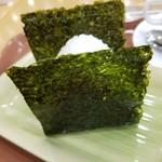 CAFE NORTE Sapporo - 鮭おにぎり 210円