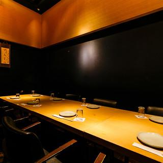 【完全個室】接待やご友人様とのお食事にもお勧めです