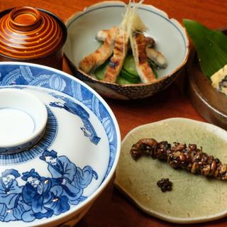 神田川オリジナル日本酒【木挽】は、鰻とご一緒に◎