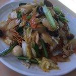 台湾料理 百味鮮 - 五目バリそば 700円(税別)