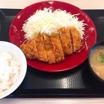 かつや - 料理写真:ロースカツ定食