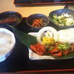 焼肉亭 - ハラミ定食 880円